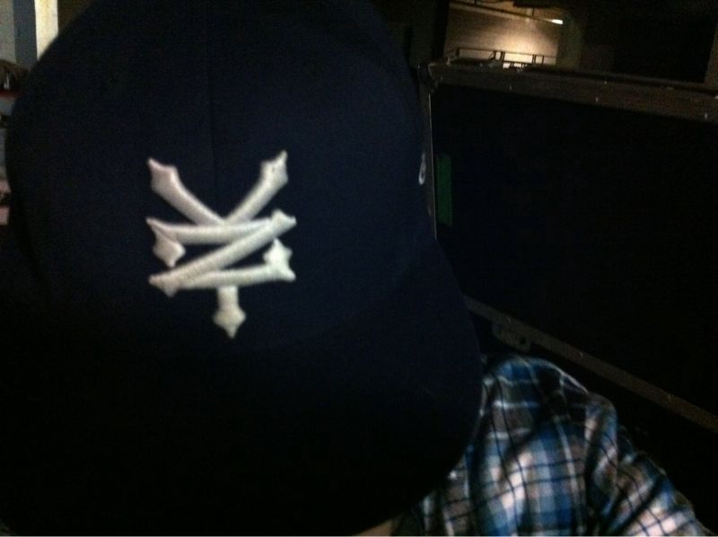 """Out of respect 4 the """"D"""" I changed my yanks hat (plus the tigers lost 6-3 today and I dont wanna get shot)"""