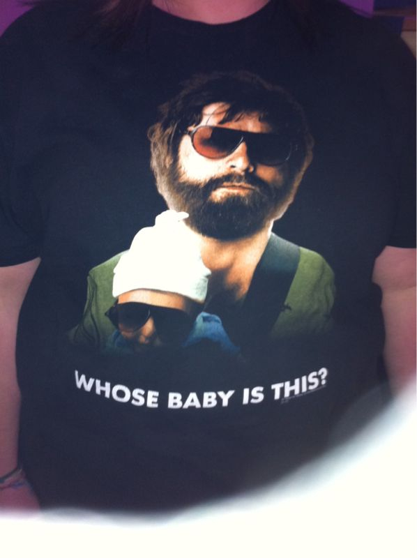 Best tshirt ever.. I want to put my 2 month old in 1 of these w/ shades on.