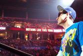 18k people here tonight @ oklahoma city arena … YO!! love to my oklahomies!