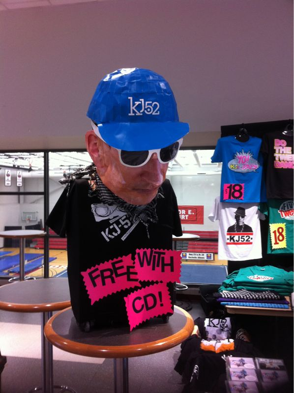 Free tshirt w/ cd purchase @ winter jam! Come find the tweezyman head for the hookup!