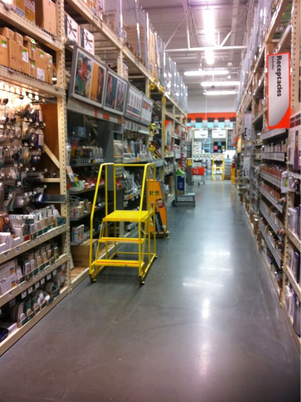 How come every time I'm in home depot I feel the need to grow a beard and wear flannel?