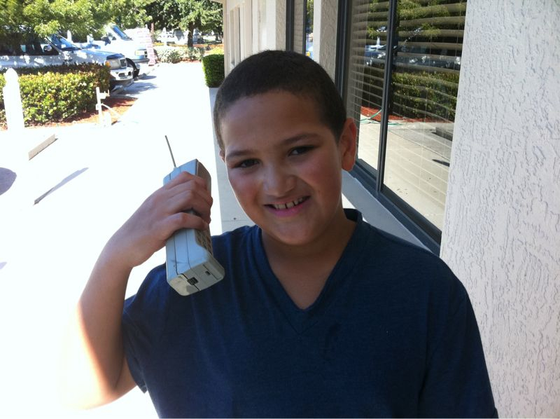 Cell phone technology is severly lacking amongst 10 yr olds in southwest Florida.