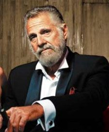 """I think the guy in """"the most interesting man in the world"""" commercial could kick my butt just by sneezing.. So hardcore!"""
