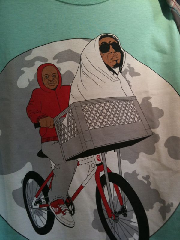 This tshirt cracks me up.. Lil Wayne as lil' weezy f. Baby E.T?