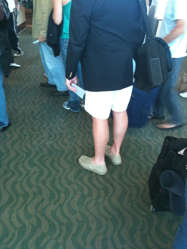 Florida fashion alert: slip on's, high shorts and boat capt. Sport coats are all the rage this summer!