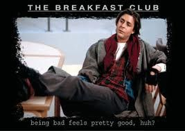 """Deep thoughts: who's tougher John bender from """"breakfast club"""" or the bully from """"karate kid"""" (Johnny)?"""