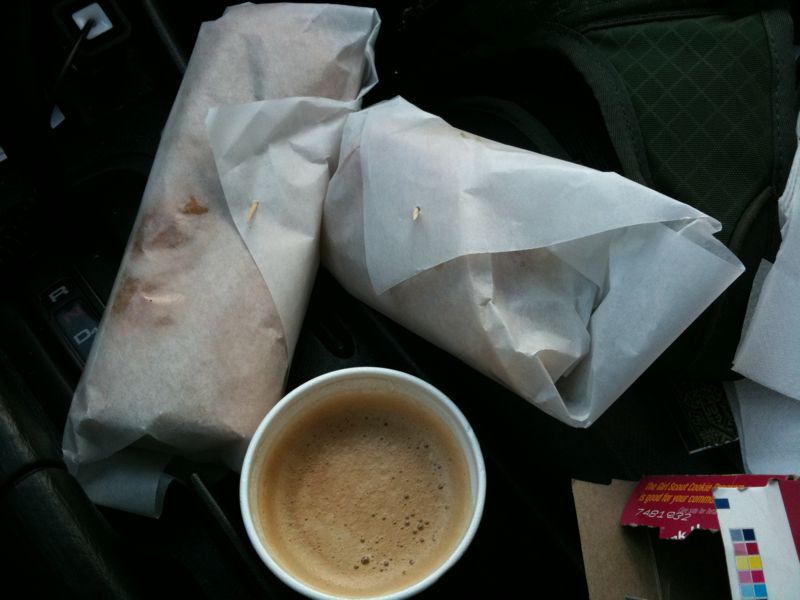 My happiness is summed up in 3 items: Cuban coffee, Cuban sandwich and Cuban toast. I love ybor city!