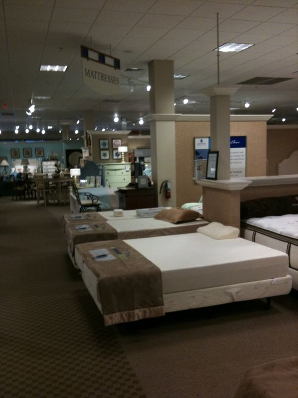 Why do furniture/bedding stores make me sleepy…Oh yeah they're filled w/ beds and couches…