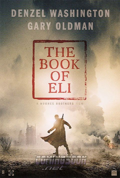 Book of Eli was dope (mad violent tho not 4 the kiddies )but very clear biblical message.. 4 Tweezy stars.