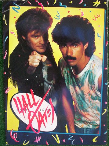 To honor my stuck in the 80s pt 2 mixtape (www.kj52podcast.com) here's a pic of hall and Oates that's awesome!