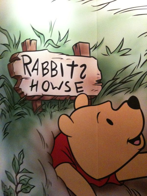 Winnie the pooh got some serious spelling probs.. Ain't they got spellcheck in the brier patch? What the deal?