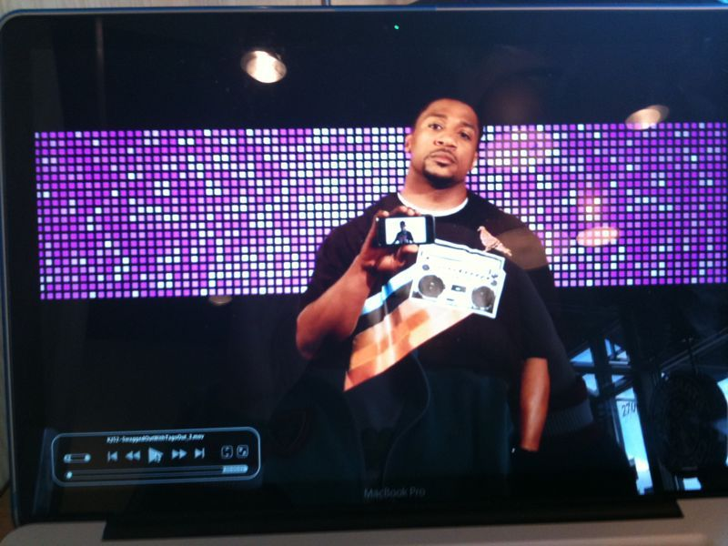 I just got an raw footage edit of the swagged out vid.. Looks phenomenal! (that's truth holding me in an iPhone)