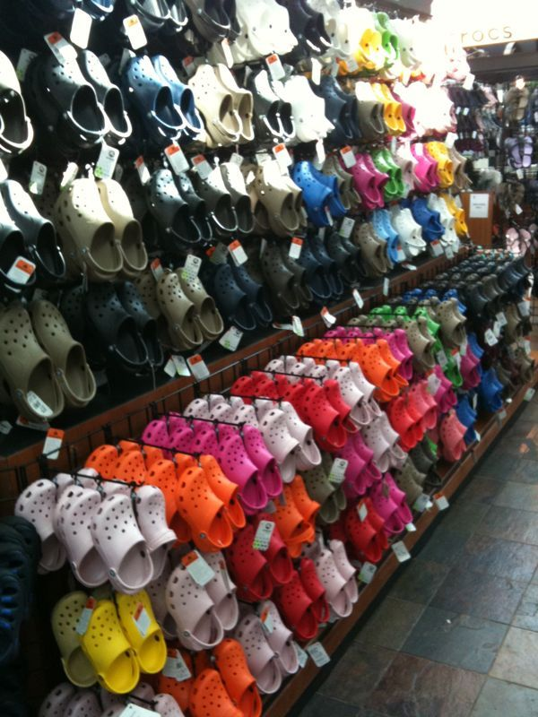 Seeing this many crocs makes my stomach churn.. Are we this desperate for bad footwear?