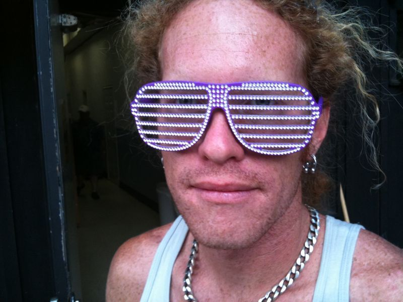 Xanadu of ff5 rockin blinged out Tweezy shades!