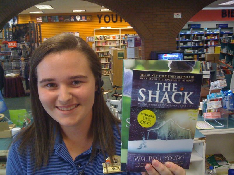 "Got 2 books from Christ centered bookstore: ""the shack"" and ""shepherding a childs heart"" anyone read em?"