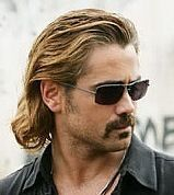 Colin farrells moustache is as lame as the Miami vice remake.. Who agrees the original is better?