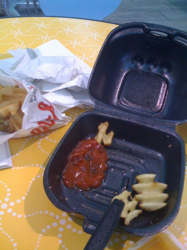 Outside of the waffle fries.. Chic fil-a might be a lil bit overated.. Agree? Disagree?