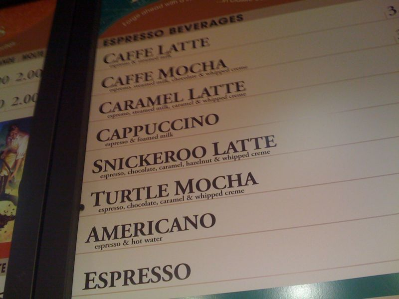 """Best coffee name ever: """"snickeroo latte"""" I want everyone to call someone """"snickeroo"""" today @ some pt."""