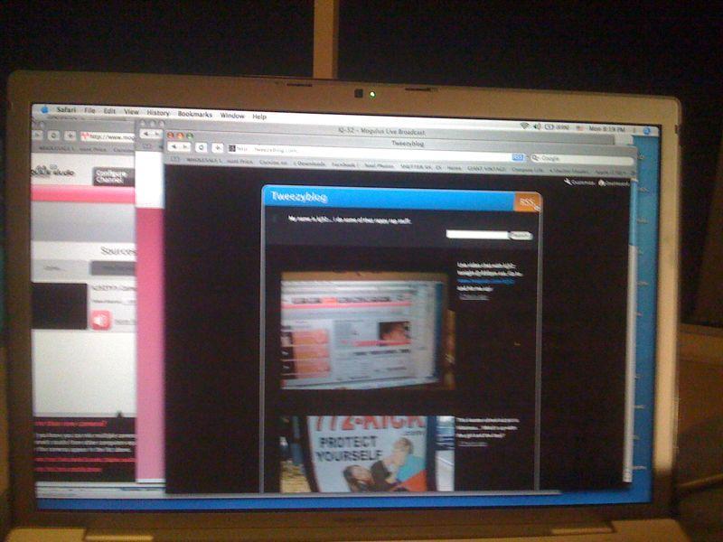 Porchcast vid chat in 10 min @ 830pm est .. Hit me up @ www.mogulus.com/kj52 (live from my porch :)