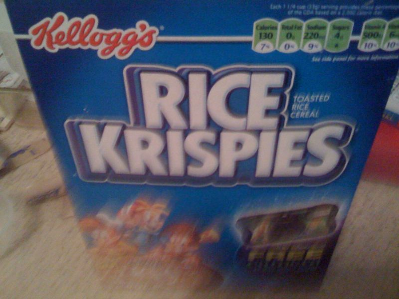 Why didn't anyone tell me 4 bowls of rice krispies is really THAT amazing?