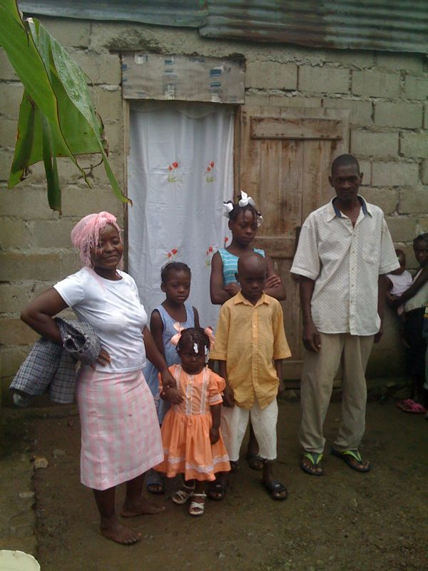 Here is a family we went to visit yesterday.. Their story of how compassion saved their lives is amazing!