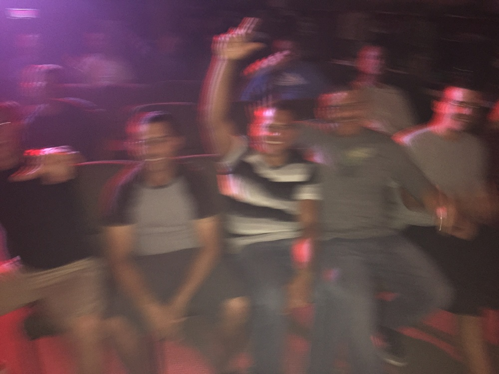 Either these guys are blurry or I should slow down while I'm rhyming and taking a picture..