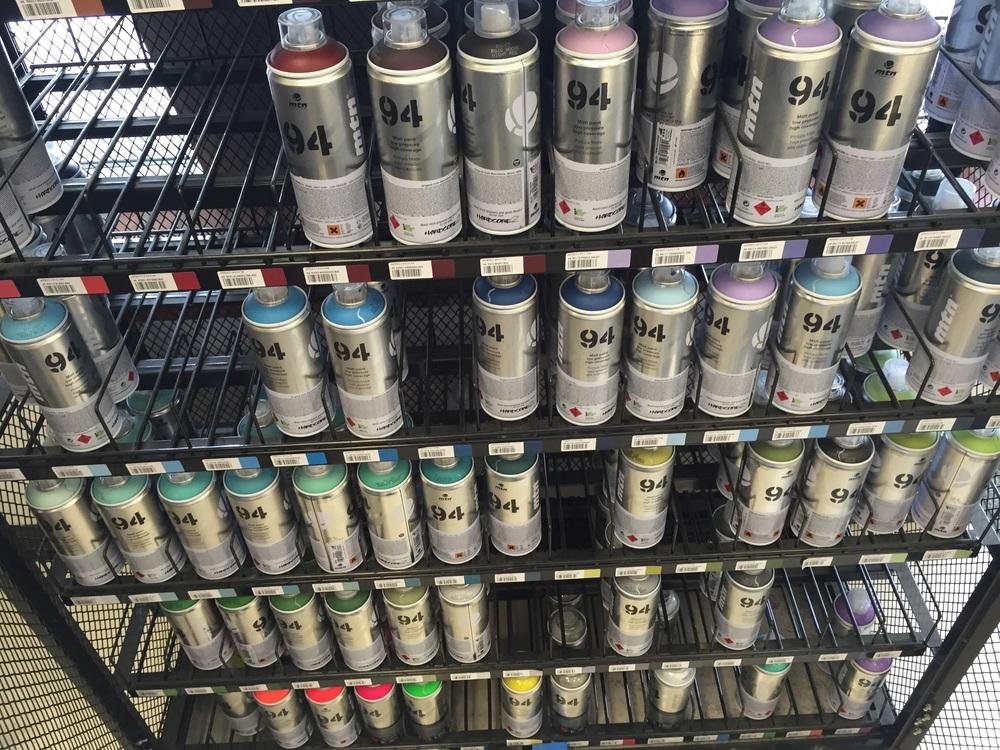So many colors... So many choices..