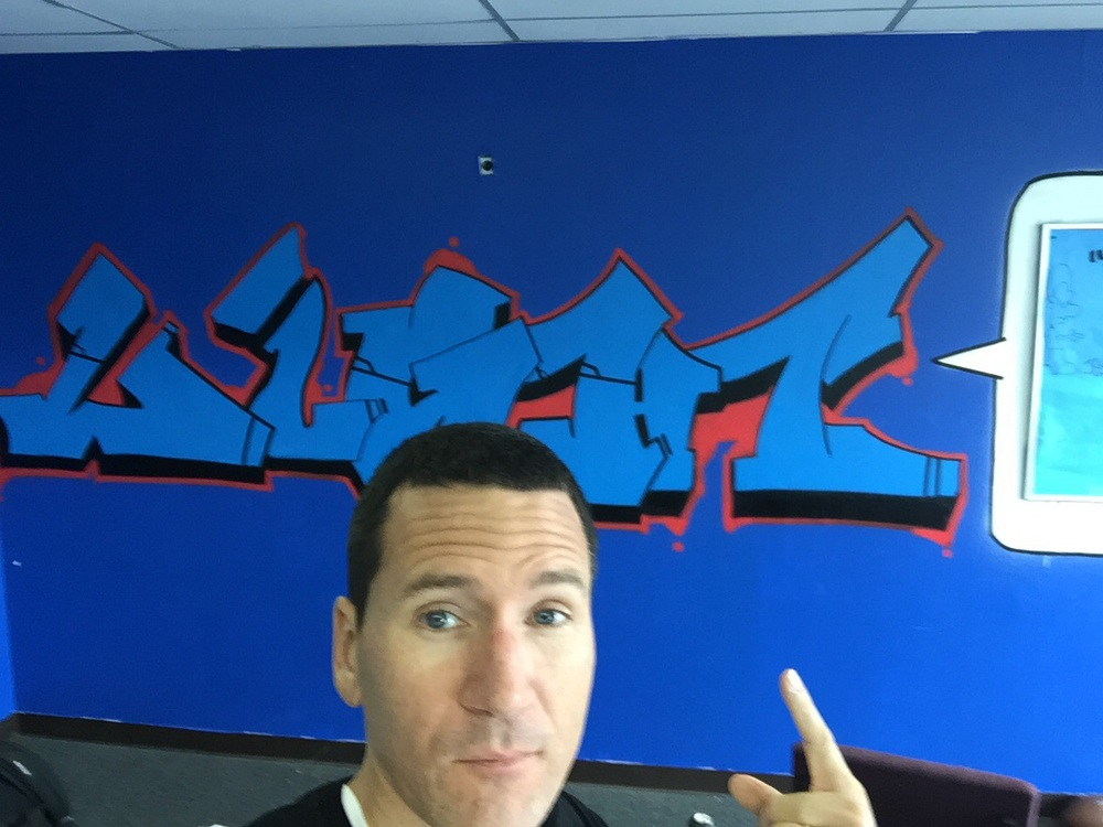 Selfie graff = selgraffie