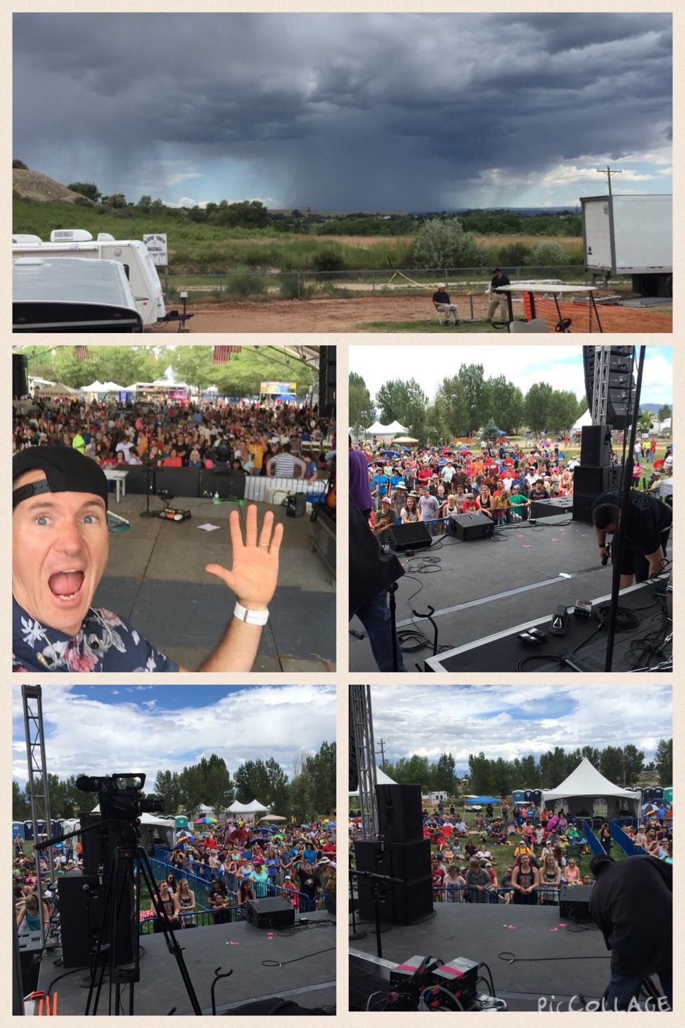Nightvision festival crowd pics/Colorado weather