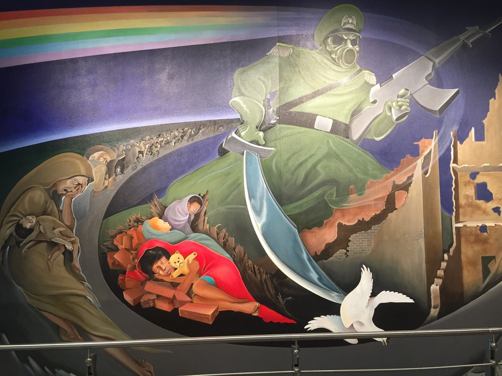 Bizarre art @ the Denver airport