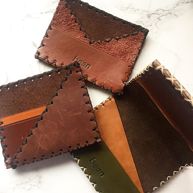 Sample Sale 25% off shopbean.co - Clearing out my inventory to make way for new designs - all handmade genuine scrap and recycled leather #samplesale #handmade #leathercraft #shop #smallbusiness