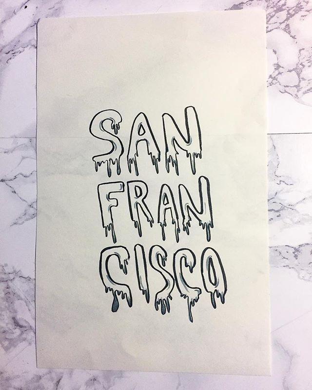 Drip drip drip 💧 #SanFrancisco #sfartists