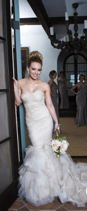 Inspired by V.W. Gemma: Hilary Duff Version — Jasmine\'s Bridal Shop