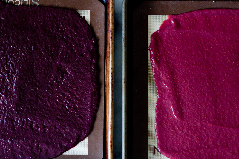 fruit leather puree