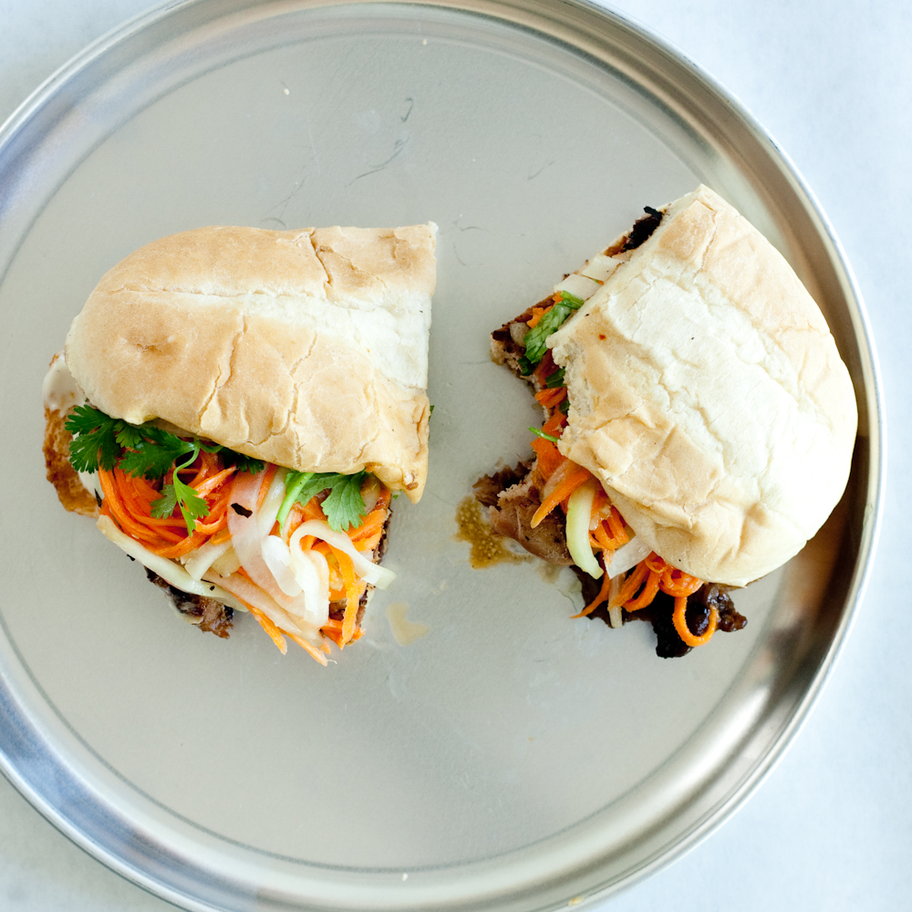 asian bbq sandwiches