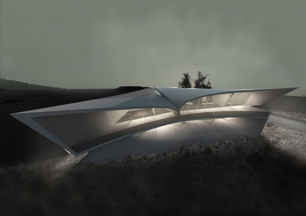 Residential - California Villa, USA @ Zaha Hadid Architects