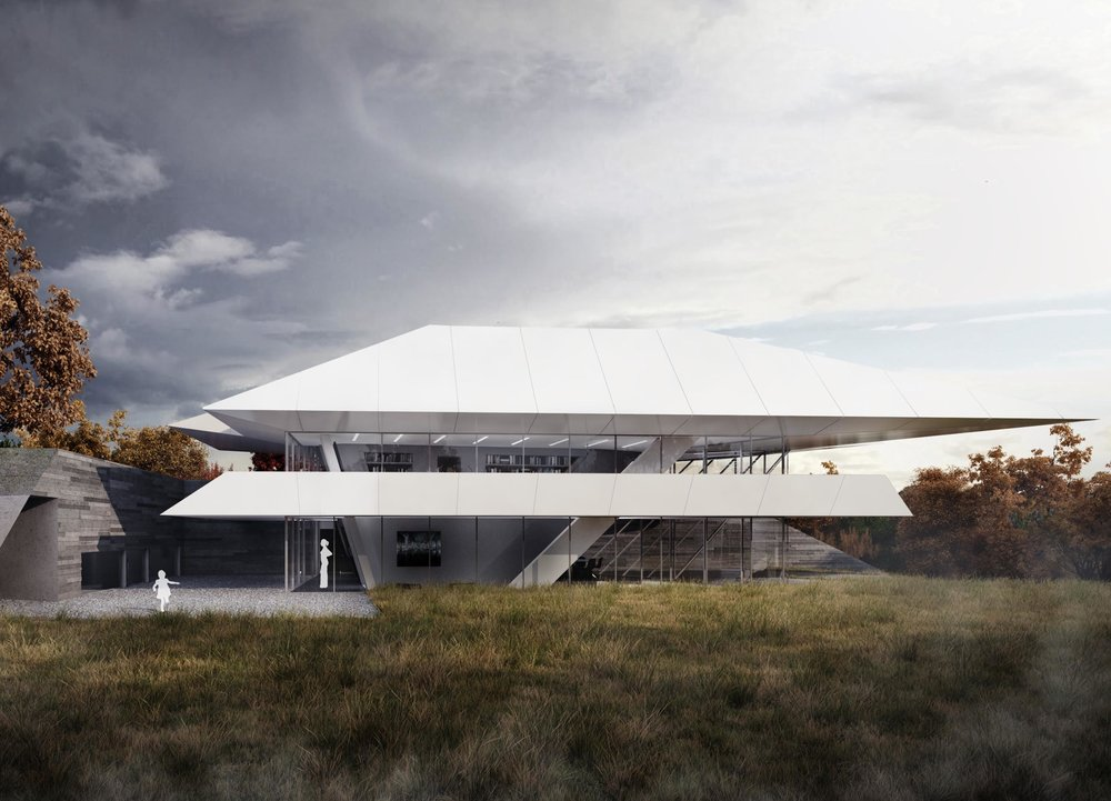 The Sanctuary, Private Residence, Brussels, Belgium - Zaha Hadid Architects, Belgium (2011 – 2013)