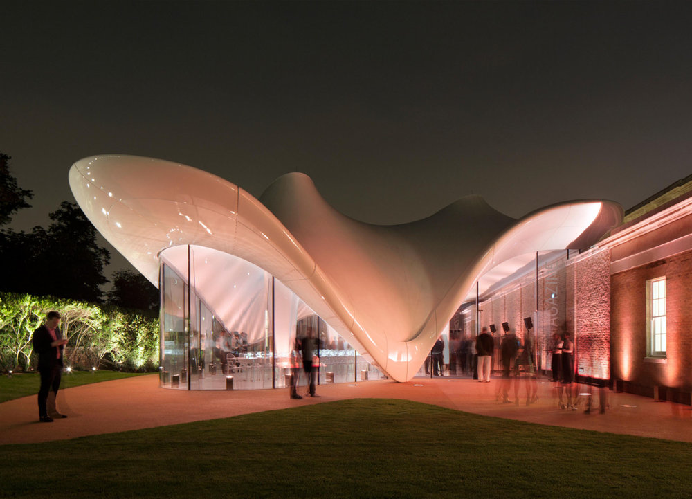 Zaha Hadid Architects, Serpentine Sackler Gallery, London, Hyde Park, United Kingdom (2011)