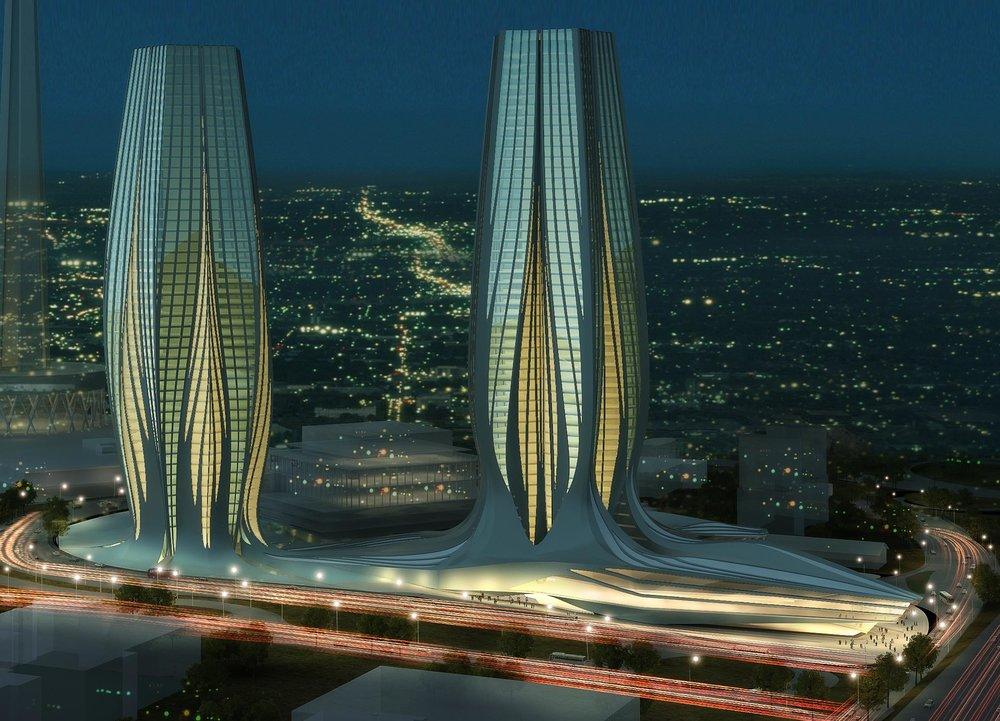 Zaha Hadid Architects, Milad Complex, Teheran, Iran (2010)