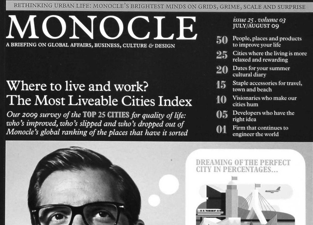 Monocle Publication - Building the dream