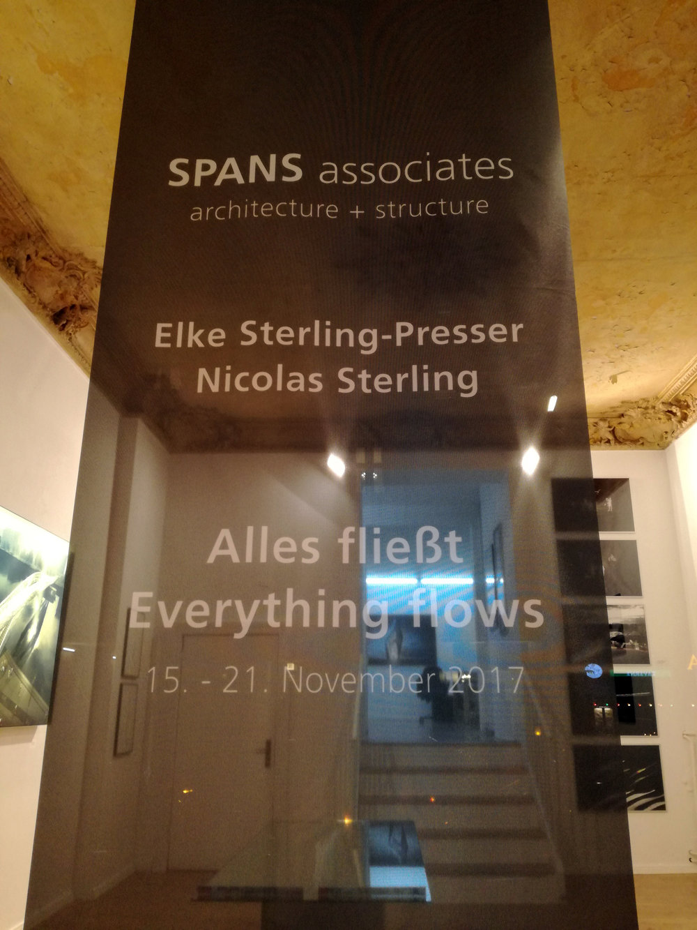 SPANS associates Vernissage Berlin Schöneberg, Nicolas Sterling, Elke Sterling Presser, ns_spans, nicolassterling, elkesterlingpresser, spans