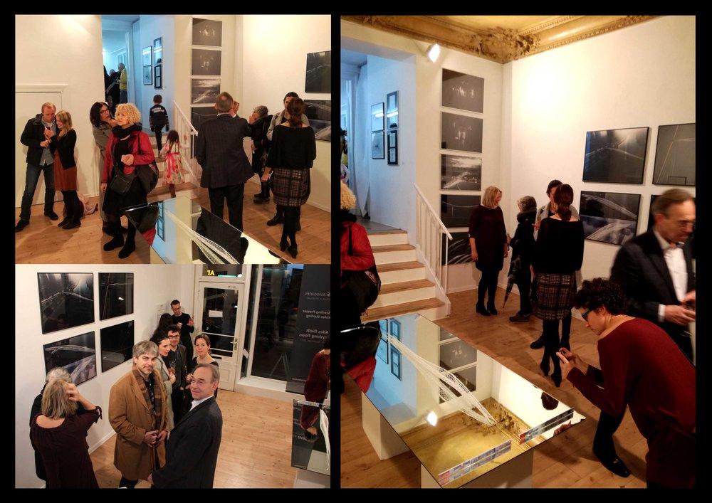 SPANS associates, Ausstellung Exhibition, Schöneberg Berlin subjectobject November 2017, WAF, Nicolas Sterling, Elke Sterling Presser, ns_spans, Architects Engineers, International, Associative design