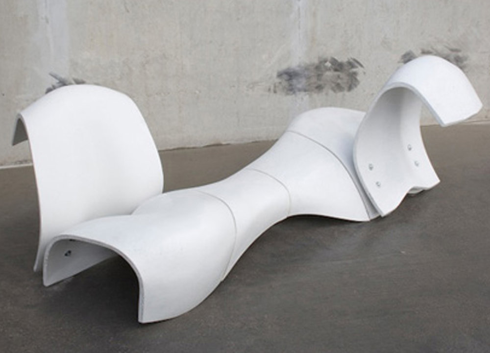 Furniture - Ductal chair, Valenciennes, France