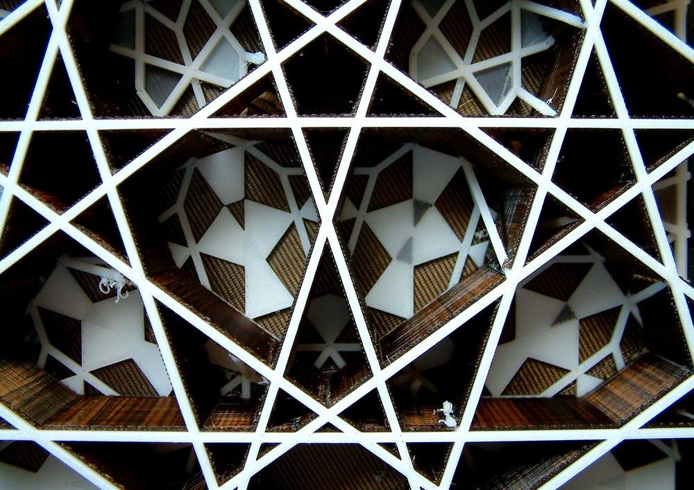 Islamic Pattern - Research, Models, London, UK, 2008