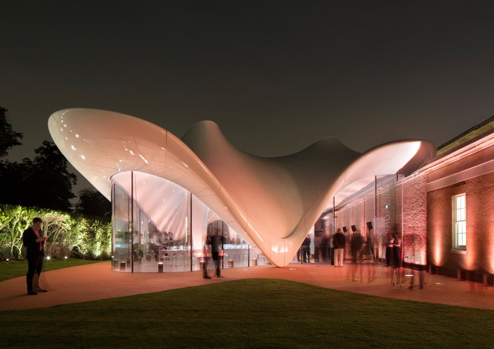 Serpentine Sackler Gallery, Hyde Park, London, UK - @ Zaha Hadid Architects,United Kingdom
