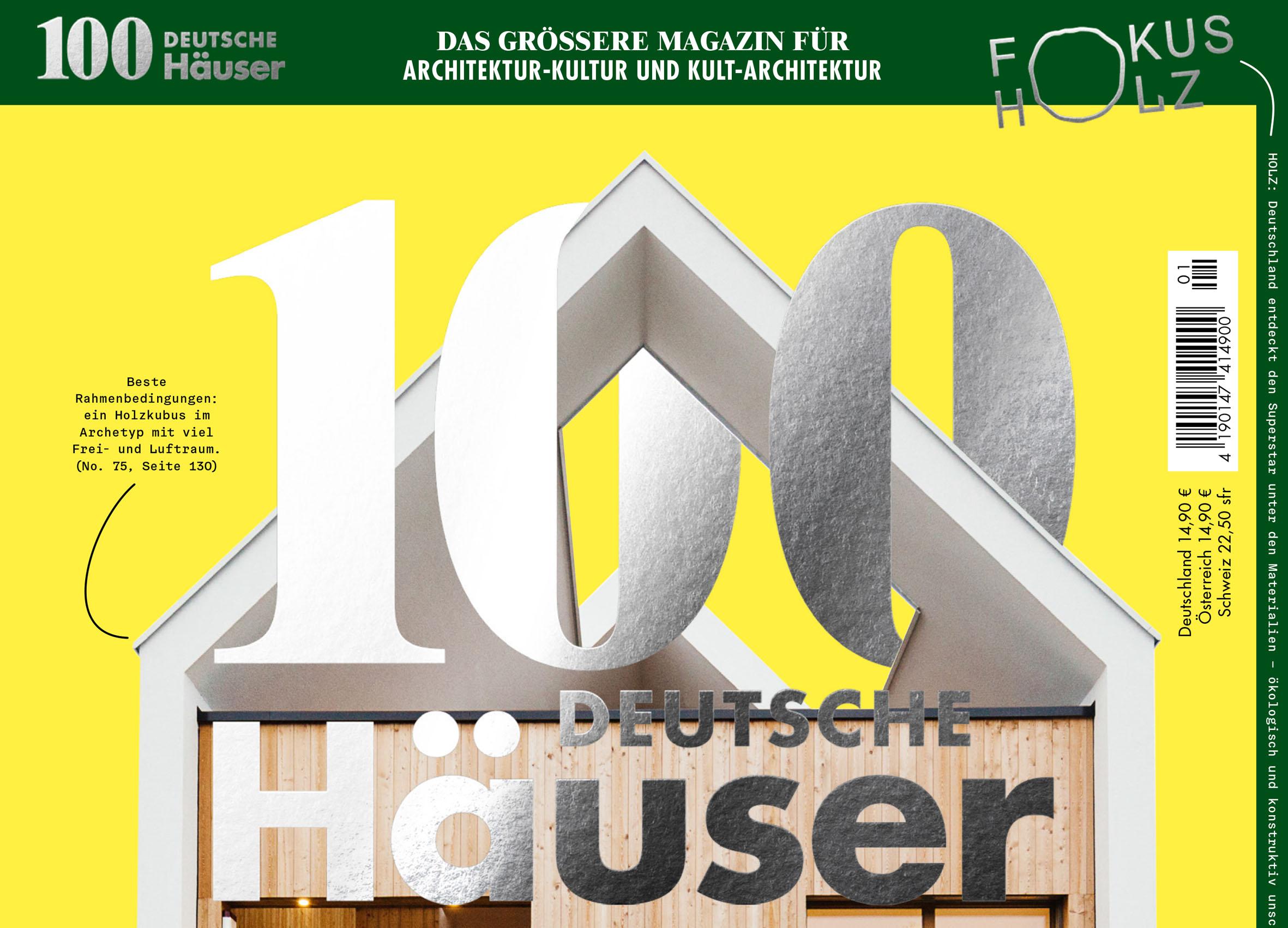 Affordable Publication Magazin Deutsche Huser Ausgabe With Hauser Magazin  Fur Architektur Und Design