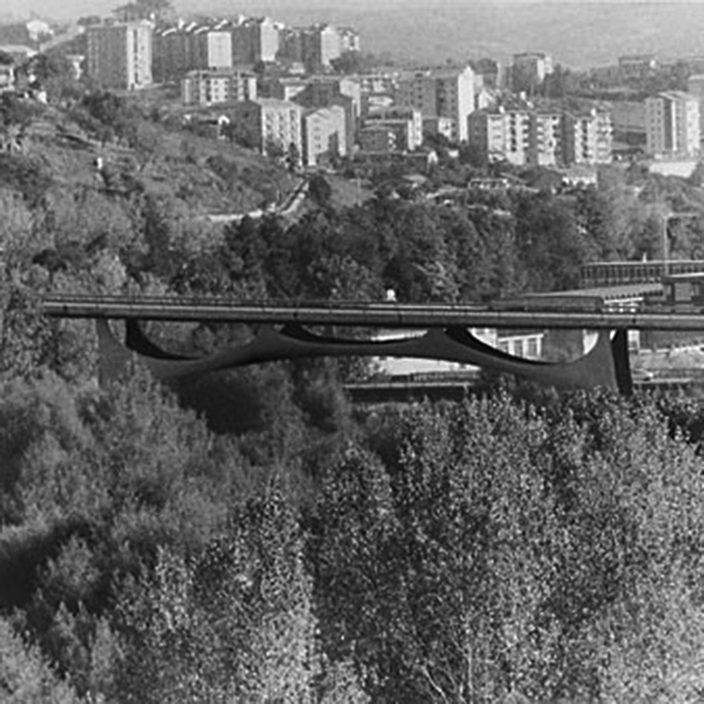 "Context ""Ponte sul Basento"", Potenza, Italy"