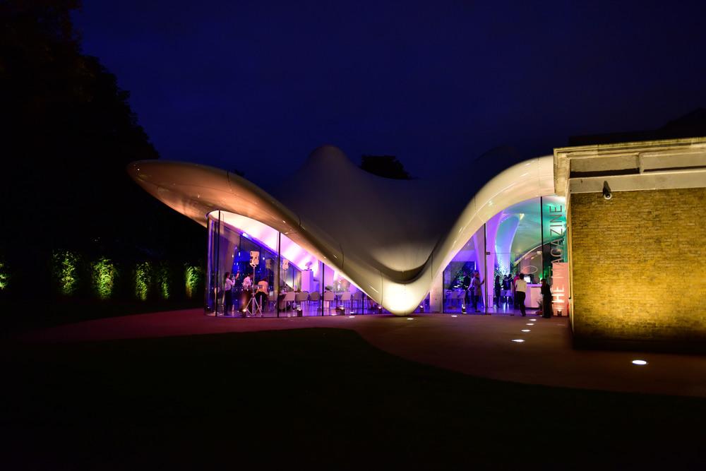 Creventive Serpentine Gallery Event Deutsche Bank production Management Catering Design