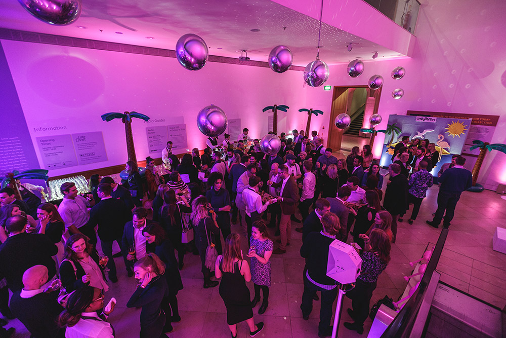 Creventive National Portrait Gallery Event Design Supplier Accredited Event Management Event Design