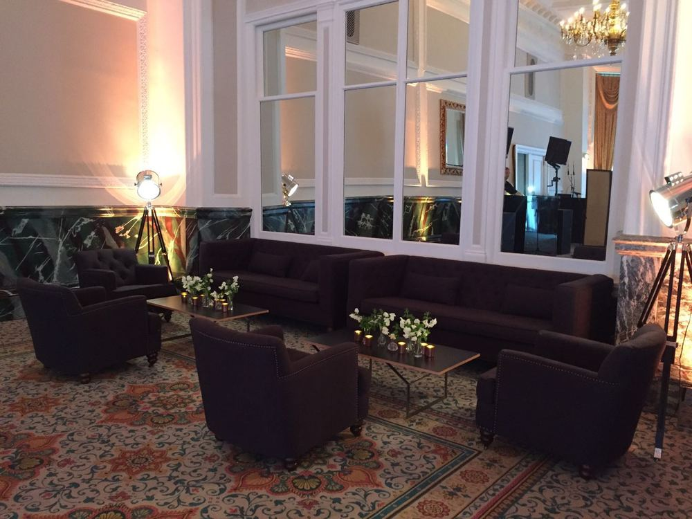 Creventive Landmark Hotel London Events Production Design Lighting Sound Floral Management